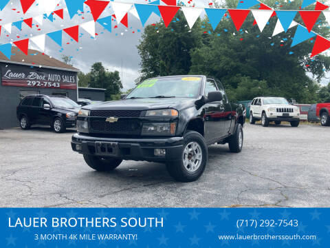 2008 Chevrolet Colorado for sale at LAUER BROTHERS SOUTH in York PA