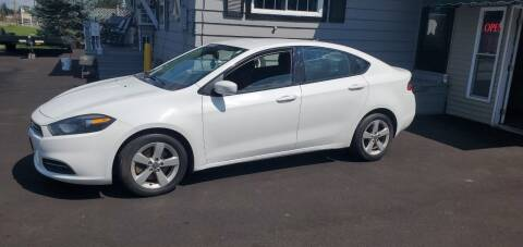 2015 Dodge Dart for sale at MGM Auto Sales in Cortland NY