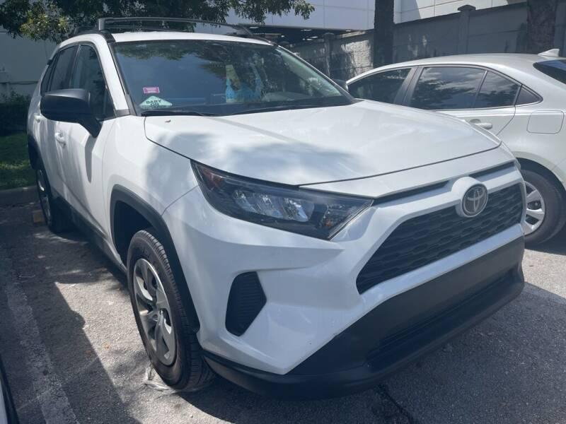 2020 Toyota RAV4 for sale at DORAL HYUNDAI in Doral FL