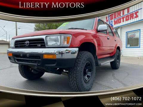 1994 Toyota 4Runner for sale at Liberty Motors in Billings MT