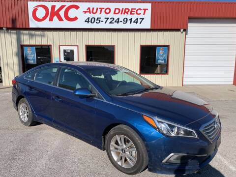 2016 Hyundai Sonata for sale at OKC Auto Direct in Oklahoma City OK