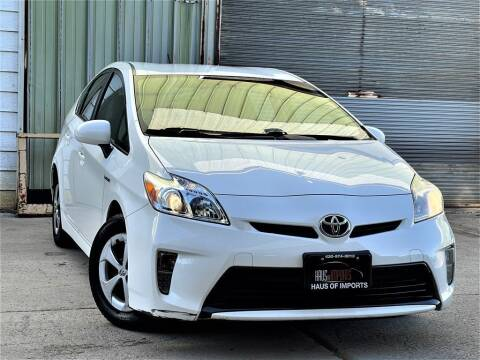 2013 Toyota Prius for sale at Haus of Imports in Lemont IL