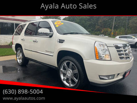 2008 Cadillac Escalade for sale at Ayala Auto Sales in Aurora IL
