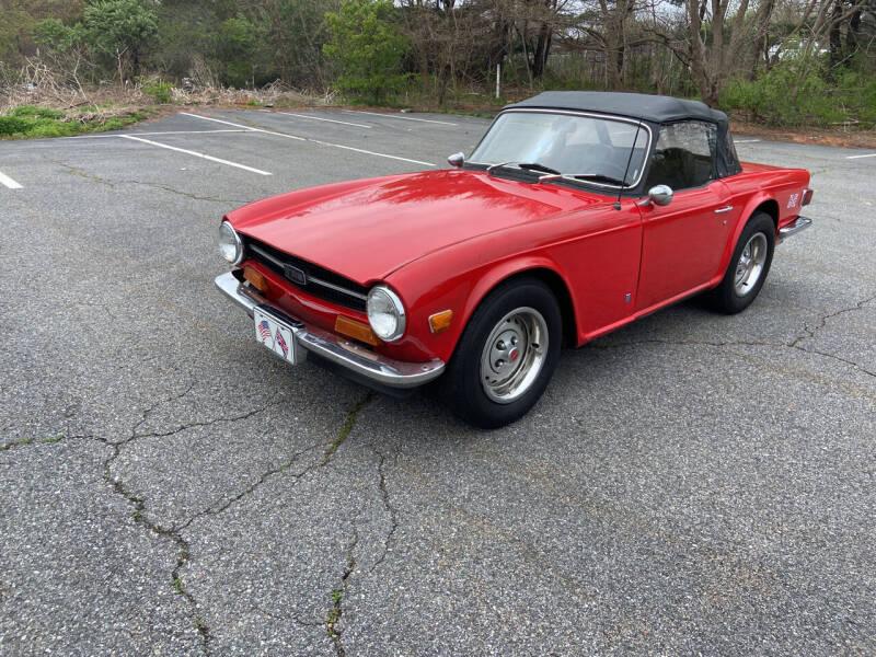 1974 Triumph TR6 for sale at Clair Classics in Westford MA