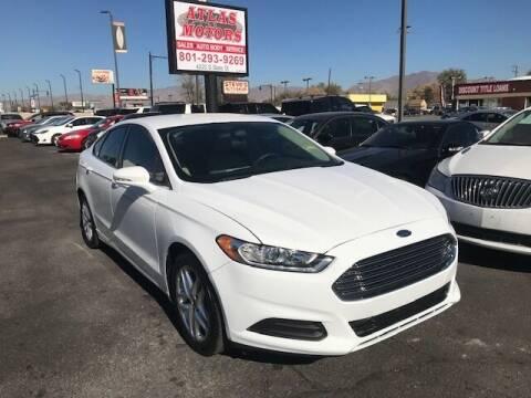 2013 Ford Fusion for sale at ATLAS MOTORS INC in Salt Lake City UT