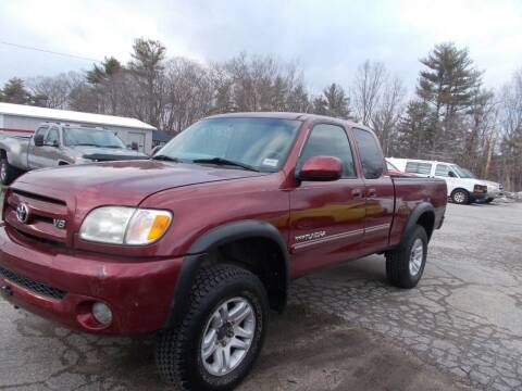 2004 Toyota Tundra for sale at Manchester Motorsports in Goffstown NH