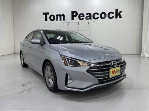 2020 Hyundai Elantra for sale at Tom Peacock Nissan (i45used.com) in Houston TX