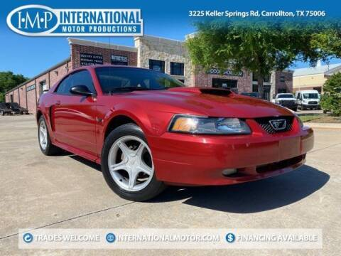 2002 Ford Mustang for sale at International Motor Productions in Carrollton TX
