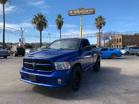2014 RAM Ram Pickup 1500 for sale at A MOTORS SALES AND FINANCE in San Antonio TX