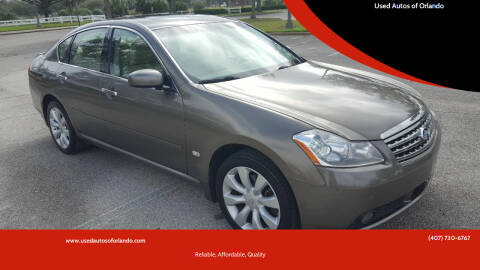 2006 Infiniti M35 for sale at Used Autos of Orlando in Orlando FL