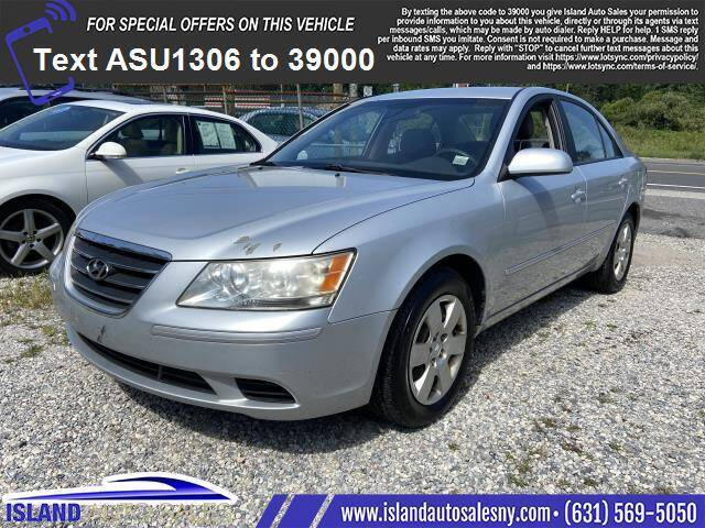 2009 Hyundai Sonata for sale at Island Auto Sales in East Patchogue NY