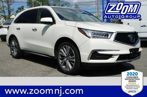 2018 Acura MDX for sale at Zoom Auto Group in Parsippany NJ