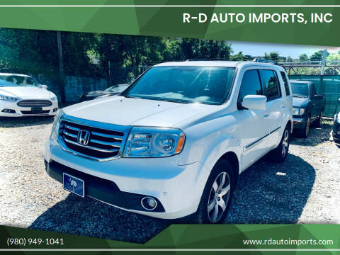 2013 Honda Pilot for sale at R-D AUTO IMPORTS, Inc in Charlotte NC