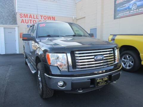 2012 Ford F-150 for sale at Small Town Auto Sales in Hazleton PA