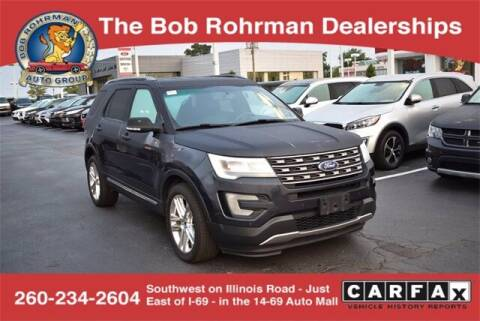 2017 Ford Explorer for sale at BOB ROHRMAN FORT WAYNE TOYOTA in Fort Wayne IN
