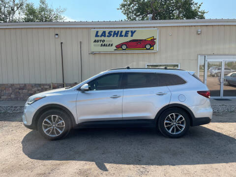 2017 Hyundai Santa Fe for sale at Lashley Auto Sales in Mitchell NE