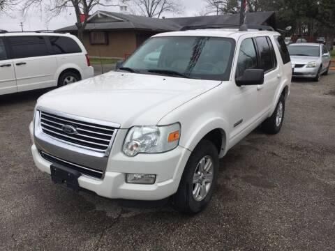 2008 Ford Explorer for sale at John 3:16 Motors in San Antonio TX