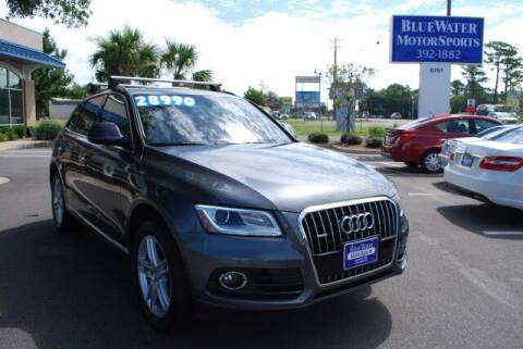 2017 Audi Q5 for sale at BlueWater MotorSports in Wilmington NC