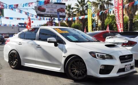 2016 Subaru WRX for sale at AMC Auto Sales, Inc in San Jose CA