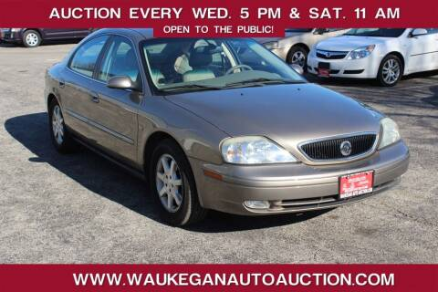 2003 Mercury Sable for sale at Waukegan Auto Auction in Waukegan IL