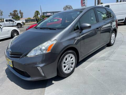 2012 Toyota Prius v for sale at CARSTER in Huntington Beach CA