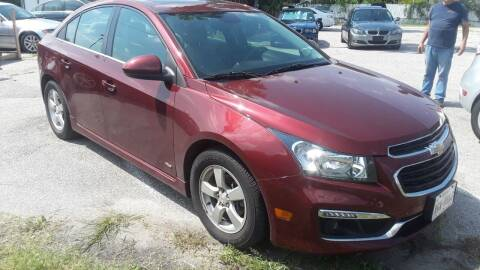 2016 Chevrolet Cruze Limited for sale at RICKY'S AUTOPLEX in San Antonio TX