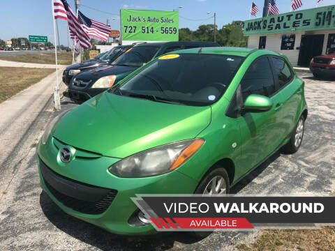 2011 Mazda MAZDA2 for sale at Jack's Auto Sales in Port Richey FL
