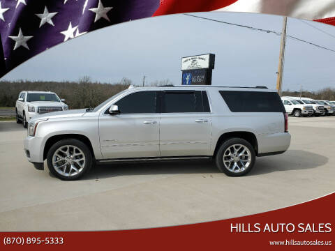 2017 GMC Yukon XL for sale at Hills Auto Sales in Salem AR