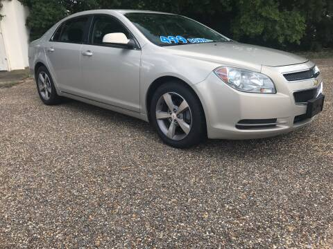 2011 Chevrolet Malibu for sale at DRIVE ZONE AUTOS in Montgomery AL