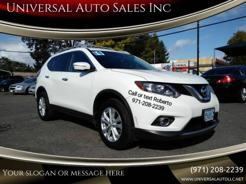 2014 Nissan Rogue for sale at Universal Auto Sales Inc in Salem OR