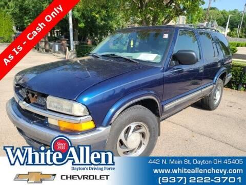 1998 Chevrolet Blazer for sale at WHITE-ALLEN CHEVROLET in Dayton OH