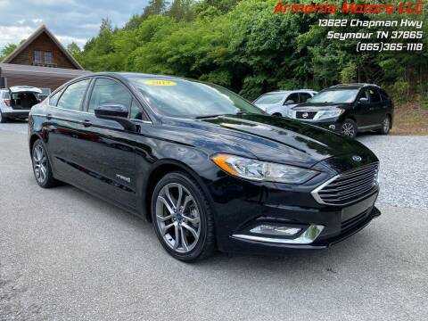 2017 Ford Fusion Hybrid for sale at Armenia Motors in Seymour TN