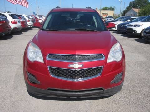 2013 Chevrolet Equinox for sale at T & D Motor Company in Bethany OK