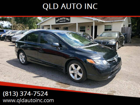 2007 Honda Civic for sale at QLD AUTO INC in Tampa FL