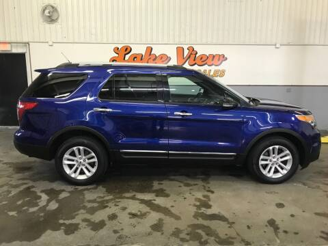 2013 Ford Explorer for sale at Lake View Auto Center and Sales in Oshkosh WI