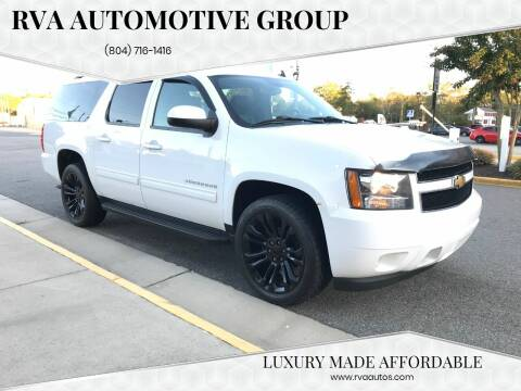 2013 Chevrolet Suburban for sale at RVA Automotive Group in North Chesterfield VA
