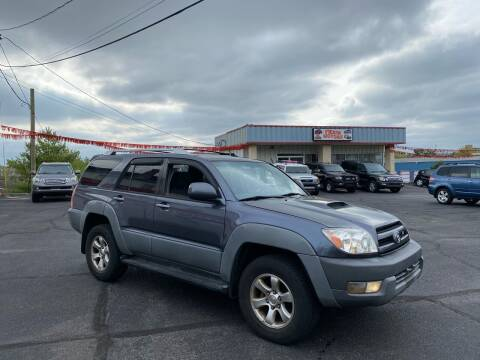 2003 Toyota 4Runner for sale at FIESTA MOTORS in Hagerstown MD