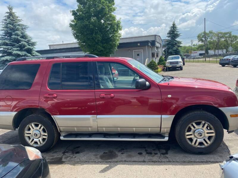 2003 Mercury Mountaineer for sale at WELLER BUDGET LOT in Grand Rapids MI