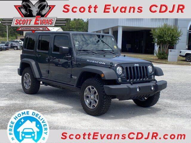 2017 Jeep Wrangler Unlimited for sale in Carrollton, GA