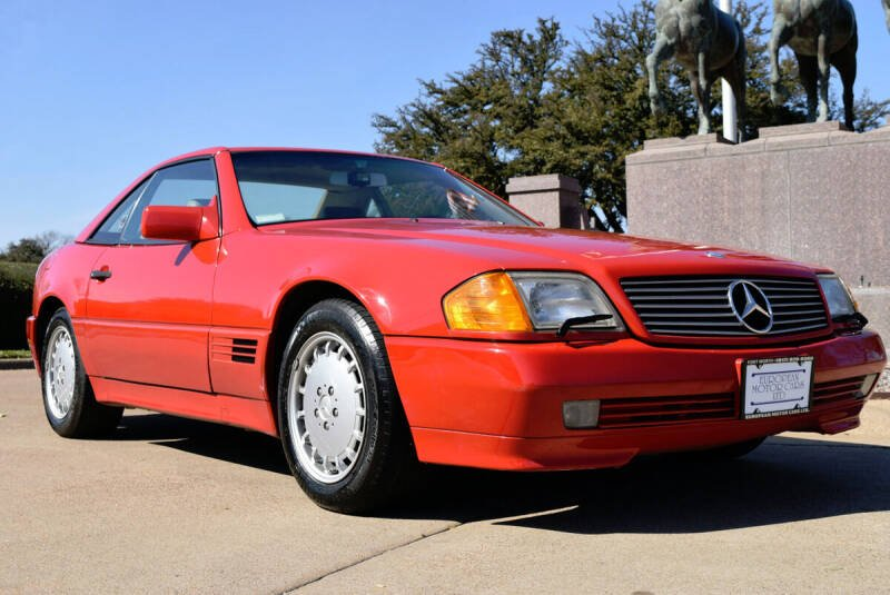 1992 Mercedes-Benz 500-Class for sale at European Motor Cars LTD in Fort Worth TX