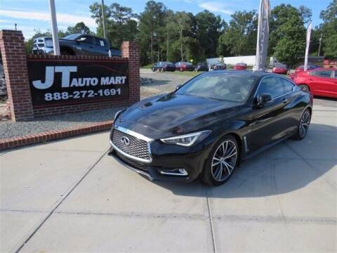 2018 Infiniti Q60 for sale at J T Auto Group in Sanford NC