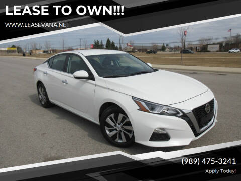 2020 Nissan Altima for sale at LeaseVana in Saginaw MI