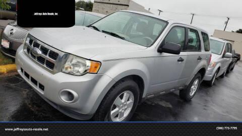 2009 Ford Escape for sale at Jeffreys Auto Resale, Inc in Clinton Township MI