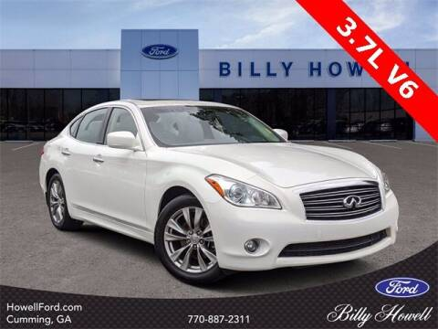 2013 Infiniti M37 for sale at BILLY HOWELL FORD LINCOLN in Cumming GA