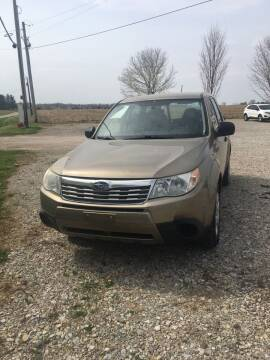 2009 Subaru Forester for sale at Carlisle Cars in Chillicothe OH