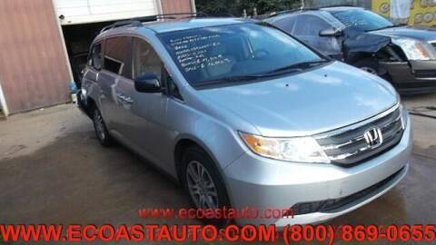 2012 Honda Odyssey for sale at East Coast Auto Source Inc. in Bedford VA
