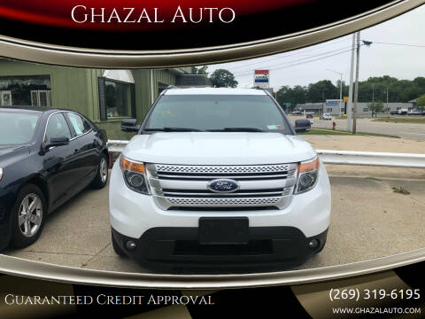 2014 Ford Explorer for sale at Ghazal Auto in Sturgis MI