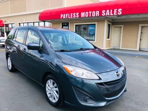 2012 Mazda MAZDA5 for sale at Payless Motor Sales LLC in Burlington NC