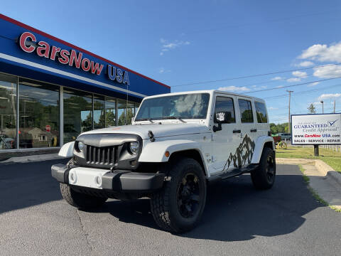 2016 Jeep Wrangler Unlimited for sale at A 1 Motors in Monroe MI