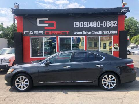 2008 Lexus LS 460 for sale at Cars Direct in Ontario CA